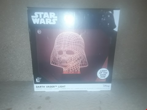 Lot 412 BOXED BRAND NEW STAR WARS DARTH VADER LIGHT