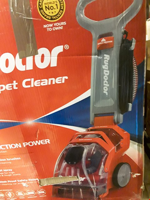 Lot 320 BOXED RUG DOCTOR DEEP CARPET CLEANER