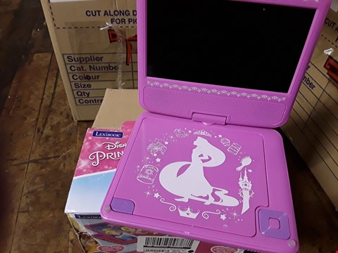 Lot 3010 DISNEY PRINCESS PORTABLE DVD PLAYER RRP £69.99