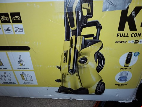 Lot 12544 KARCHER K4 FULL CONTROL HIGH PRESSURE WASHER