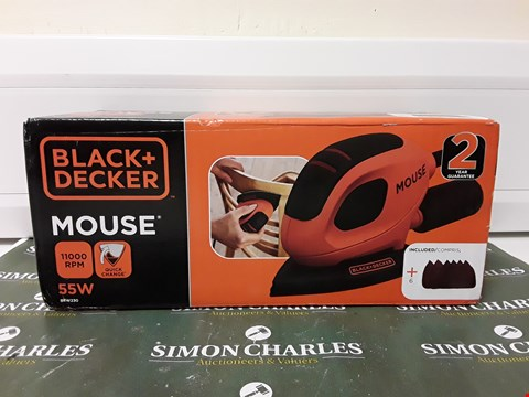 Lot 4508 BOXED BLACK AND DECKER MOUSE
