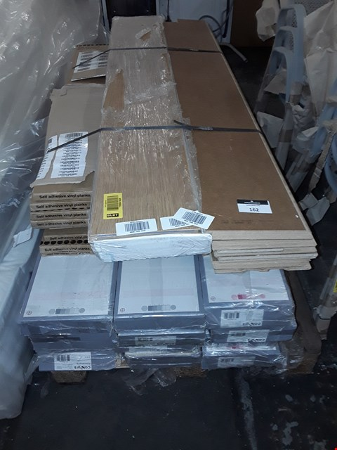 Lot 162 PALLET OF ASSORTED LAMINATE FLOORING