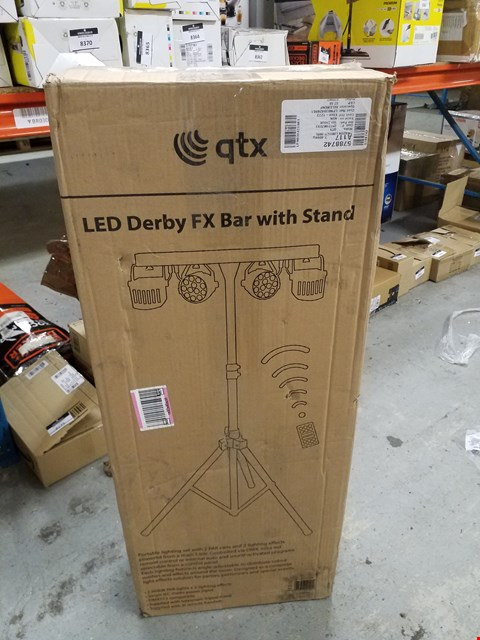 Lot 8338 QTX DERBY FX LED PARTY BAR ALL IN ONE DISCO STAGE BAND DJ LIGHTING SYSTEM
