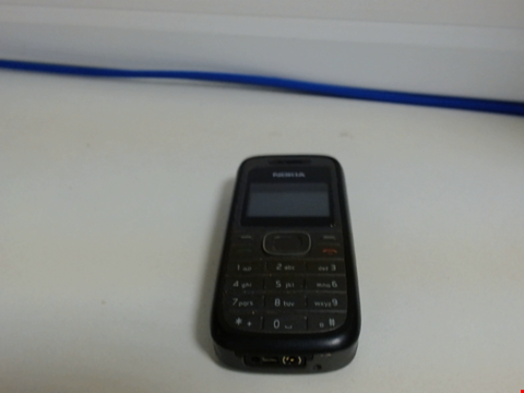 Lot 6571 NOKIA 1208 MOBILE PHONE UNKNOWN CAPACITY