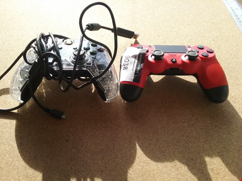 Lot 9038 1 GAME CONTROLLER FOR A XBOX & A GAME CONTROLLER FOR A PLAYSTATION