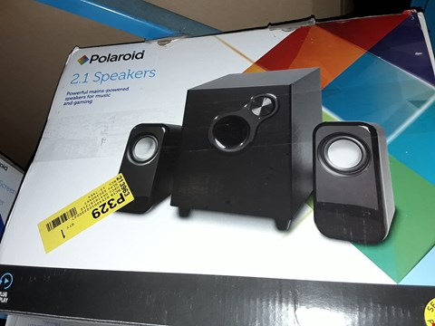 Lot 3191 POLAROID 2.1 SPEAKERS