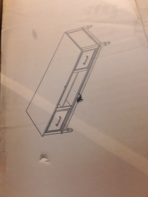 """Lot 5106 BOXED COSMO LIVING WHITE TV STAND UPTO 65"""" TV'S"""
