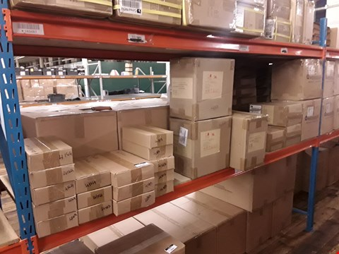 Lot 4180 SHELF OF 25 BOXES OF ASSORTED ITEMS TO INCLUDE: DISNEY'S LION KING EMBELLISHMENTS DIE SETS GO! SOARKLE TREES ETC