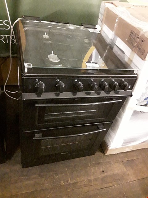 Lot 61 SWAN SX2061B 60CM FREESTANDING GAS DOUBLE OVEN COOKER  RRP £429.00