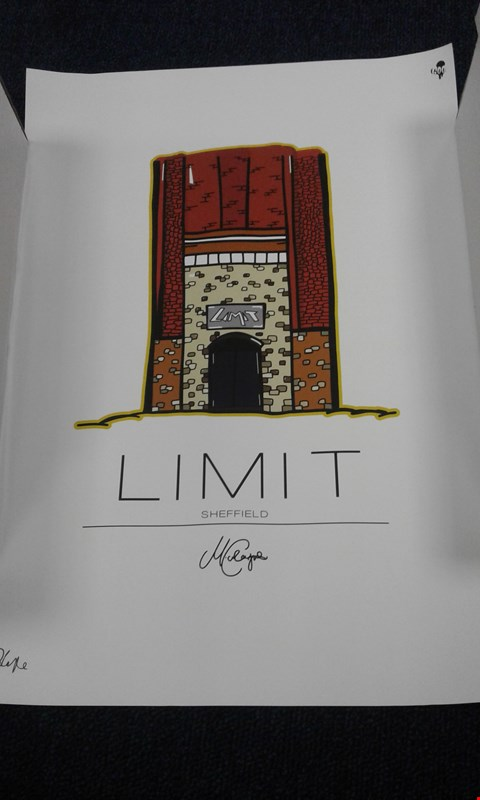 Lot 8244 MATT COCKANYE 'LIMIT SHEFFIELD' PRINT NUMBERED 4/250