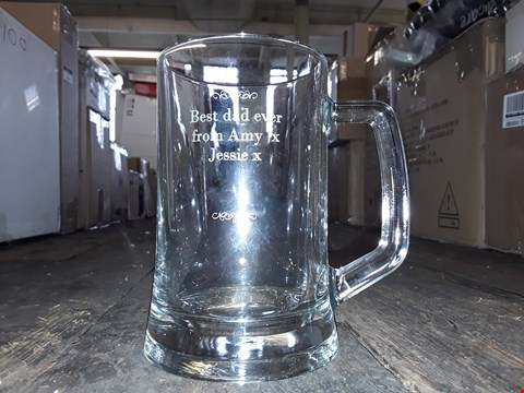 Lot 2060 LOT OF 2 TO INCLUDE PERSONALISED FATHERS DAY BEER GLASS, CANON PIXMA MX495 PRINTER BLACK RRP £125