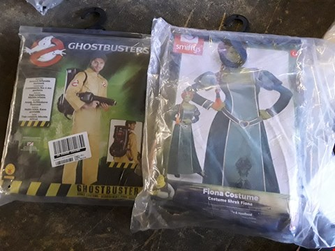 Lot 210 APPROXIMATELY 3 BRAND NEW ITEMS TO INCLUDE GHOSTBUSTERS ADULT COSTUME AND SHREK FIONA COSTUME RRP £111