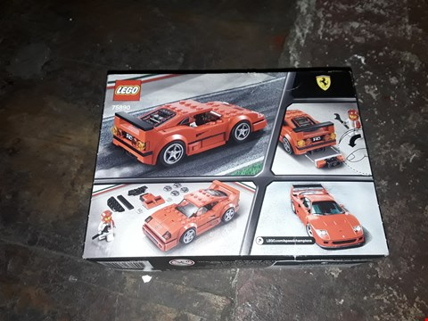 Lot 4097 LEGO 75890 FERRARI F40 SPEED CHAMPIONS RRP £12.99