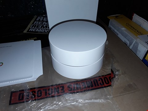 Lot 97 GOOGLE WI-FI WHOLE HOME SYSTEM