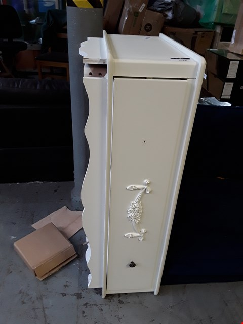 Lot 2092 DESIGNER WHITE FINISH WARDROBE BASE