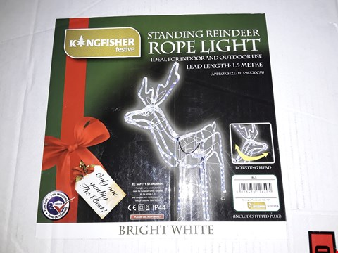 Lot 25 STANDING REINDEER ROPE LIGHT