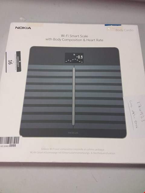 Lot 16 WITHINGS / NOKIA BODY CARDIO - WI-FI SMART SCALE