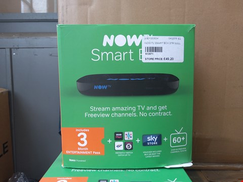 Lot 451 BOXED NOW TV SMART BOX