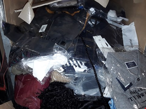 Lot 1349 CAGE OF ASSORTED UNPROCESSED ADULT CLOTHING (CAGE NOT INCLUDED)