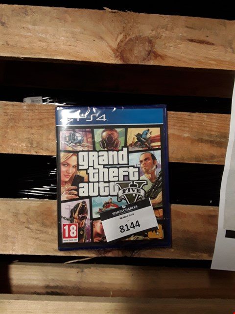 Lot 1542 BRAND NEW GTA V FOR PS4 RRP £74.99