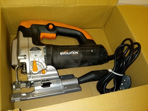 Lot 3205 EVOLUTION 710W CORDED JIGSAW WITH VARIABLE SPEED CONTROL