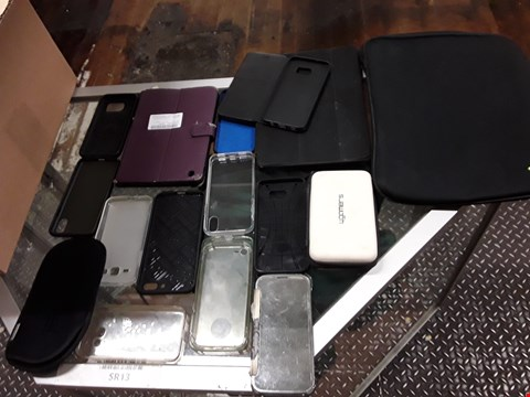 Lot 727 BOX OF ASSORTED PHONE AND TABLET CASES