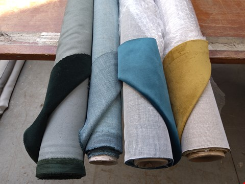 Lot 1082 4 ROLLS OF ASSORTED FABRICS TO INCLUDE:
