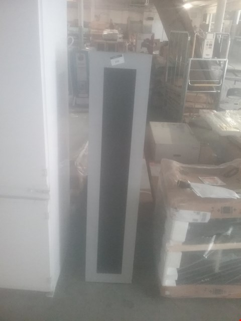 Lot 168 GREY/BLACK WOODEN WALL CABINET 1400MM