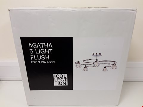 Lot 6021 BOXED AGATHA 5 PLACE CEILING LIGHT