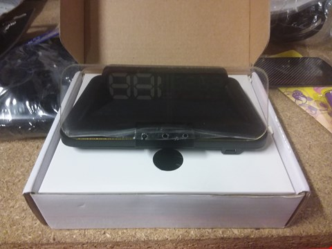 Lot 3502 HOLOGRAPHIC HEADS UP DISPLAY