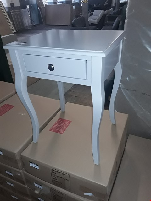 Lot 36 BOXED ARIA GREY LAMP TABLE RRP £119