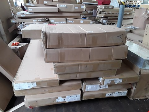 Lot 9102 PALLET OF ASSORTED FLAT PACK FURNITURE PARTS
