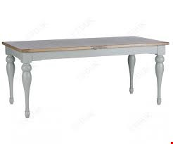 Lot 86 BOXED DESIGNER WILLIS & GAMBIER MALVERN LARGE EXTENDING DINING TABLE (1 BOX) RRP £999