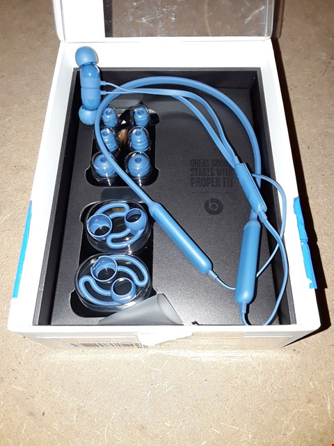 Lot 754 BEATS BY DR. DRE BEATSX EARPHONES - BLUE