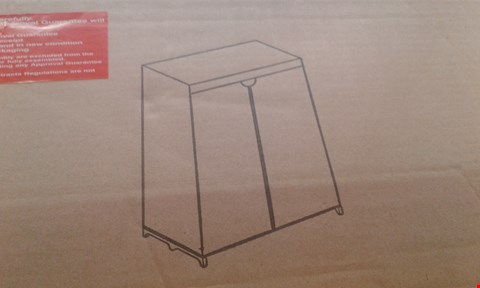 Lot 402 LOT OF 2 ITEMS TO INCLUDE MORITS FLUSH 3 LIGHT CRYSTAL DROP LIGHT AND SINGLE WARDROBE  RRP £128.99
