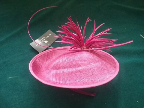 Lot 8596 BRAND NEW NIGEL RAYMENT MAGENTA HAT RRP £81.00