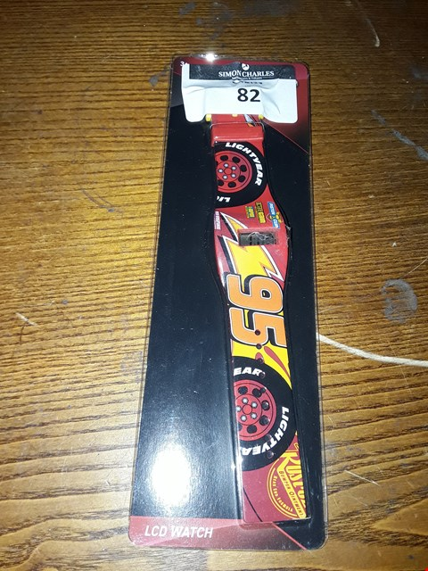 Lot 82 BRAND NEW DISNEY PIXAR CARS CHILDREN'S WRISTWATCH