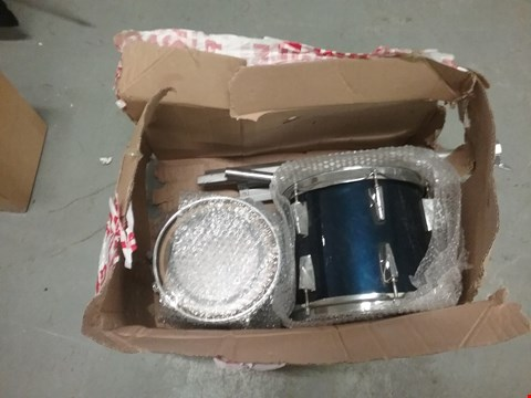 Lot 217 PAIR OF BLUE TRAX PREMIER DRUMS (WITH STANDS)
