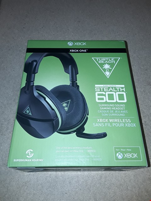 Lot 9285 BRAND NEW TURTLE BEACH STEALTH 600 XBOX VERSION HEADSET RRP £119.99