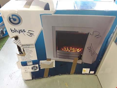 Lot 71 BOXED BLYSS BECCLES 2000W ELECTRIC FIREPLACE  RRP £98.00