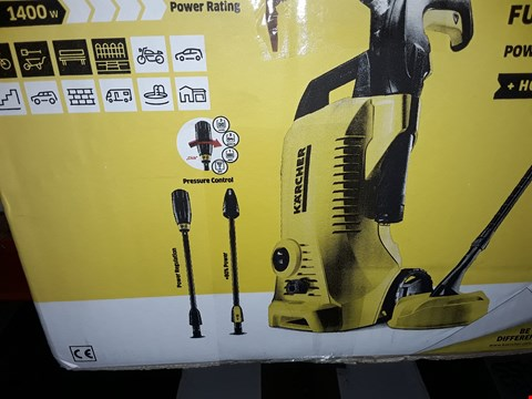 Lot 12540 KARCHER K2 FULL CONTROL PRESSURE WASHER