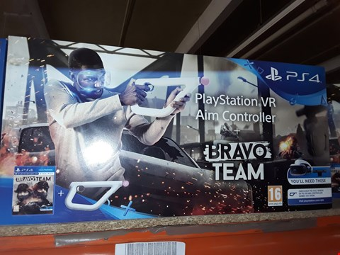 Lot 29 BRAND NEW BOXED SONY PS4 PLAYSTATION VR AIM CONTROLLER + BRAVO TEAM
