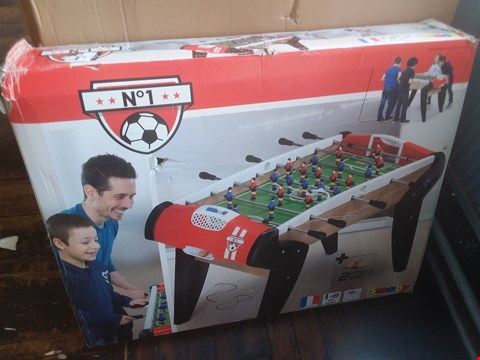 Lot 11229 SMOBY SOCCER NO. 1 TABLE RRP £200