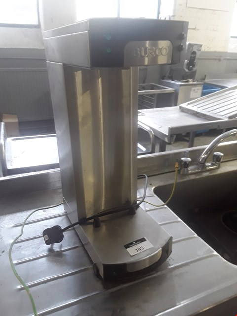 Lot 25 BURCO AUTO FILL COFFEE SYSTEM