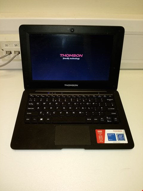 "Lot 112 THOMSON NEO 10.1"" NOTEBOOK X5-Z8350 - BLACK RRP £150.00"