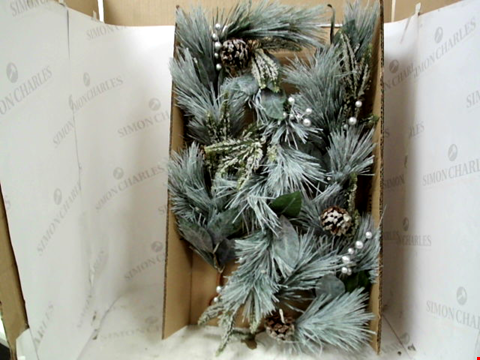 Lot 13139 BOXED LIT CONE GARLAND  RRP £32.99