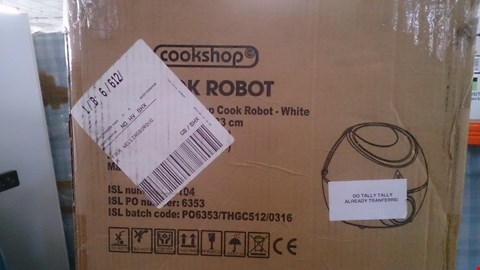 Lot 2544 BOXED COOKSHOP COOK ROBOT