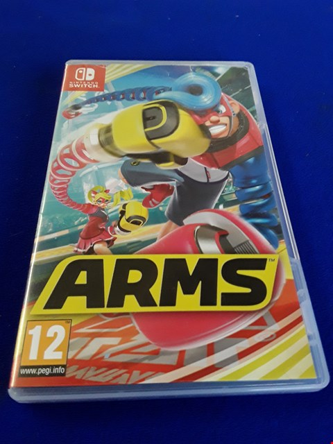 Lot 7609 ARMS NINTENDO SWITCH GAME