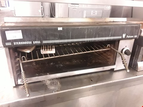Lot 29 FALCON STEAKHOUSE GAS FIRED SALAMANDER GRILL