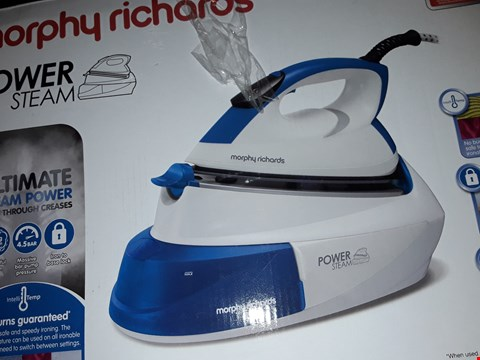 Lot 639 MORPHY RICHARDS POWER STEAM IRON